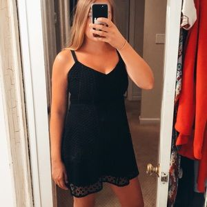 A&F Black Dress